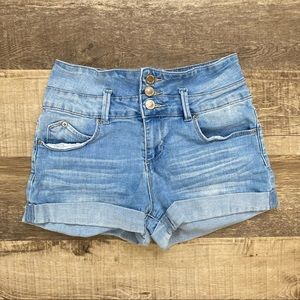 YMI High Waist Jean Shorts